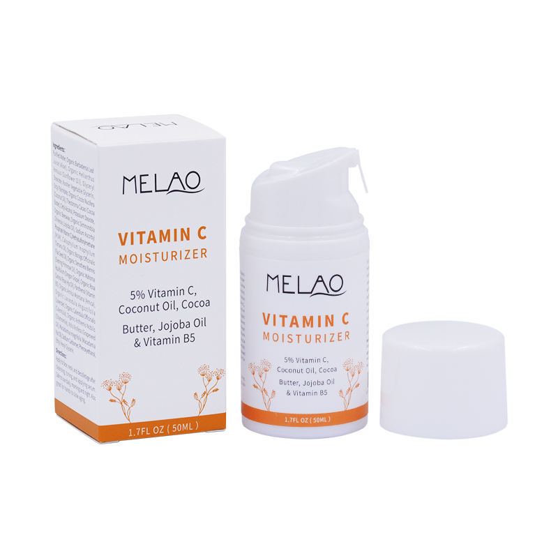 Wholesale Melao 50g 100% natural vitamin c cream for face skin lotion