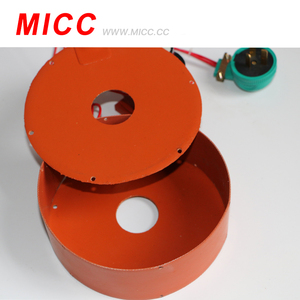 MICC High quality 24V round silicone rubber heating pad heater element