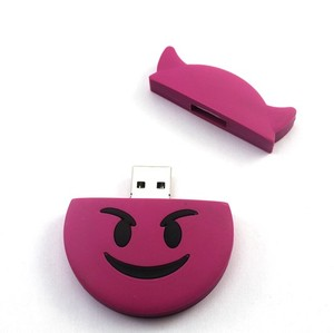 Wholesale Cheap EMOJI Demon Shape USB Flash Drive 4GB/8GB/16GB/32GB/64GB