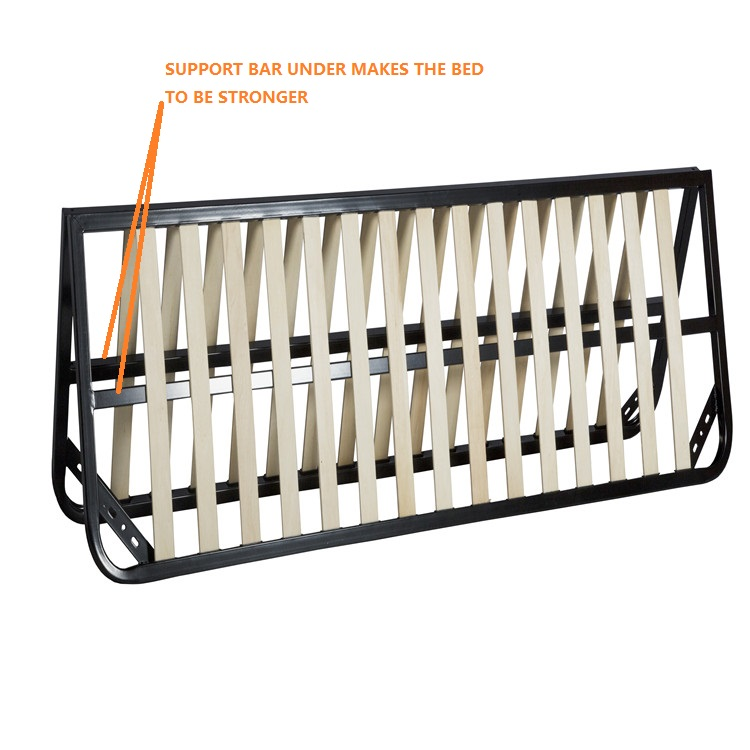 brand new 47e30 2db11 Flat Slat Queen Size Folding Bed Frame For The Lift Up Storage Bed - Buy  Folding Bed Frame,Queen Bed Frame,Storage Bed Product on Alibaba.com