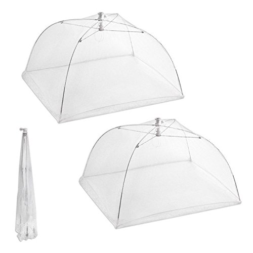 Get Quotations · Set of 2 Large Pop-Up Mesh Screen Protect Food Cover Tents Dome Umbrella Picnic  sc 1 st  Alibaba & Cheap Mesh Umbrella Food Cover find Mesh Umbrella Food Cover ...
