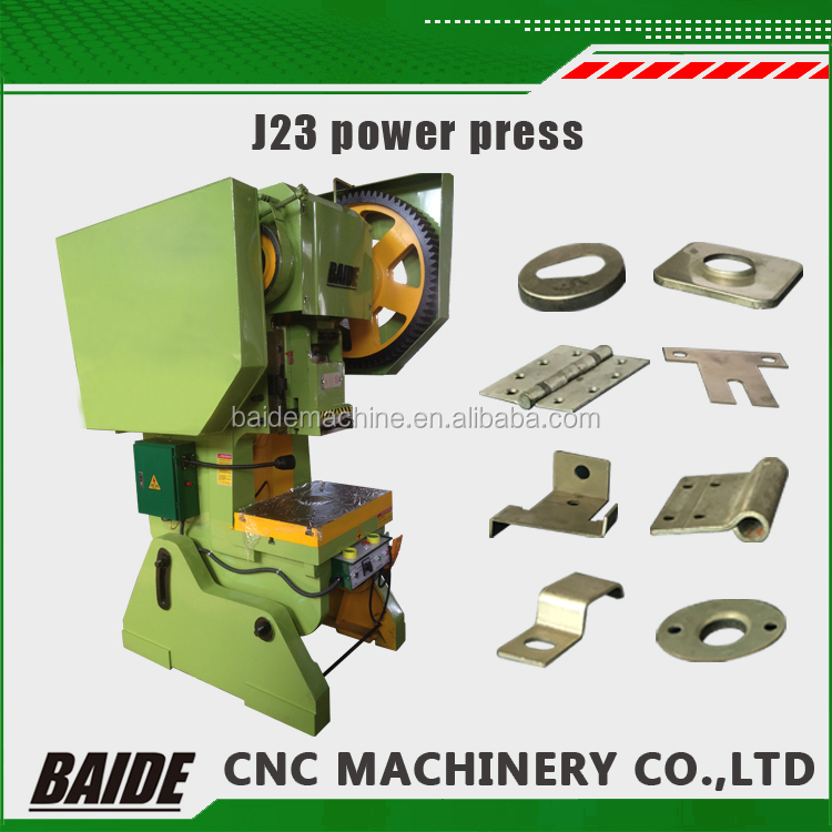 J23 sheet metal punch presses eyelet curtain punch machine C type metal hole punching Machine