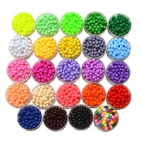 wholesale beads high quality SGS past loose pony beads