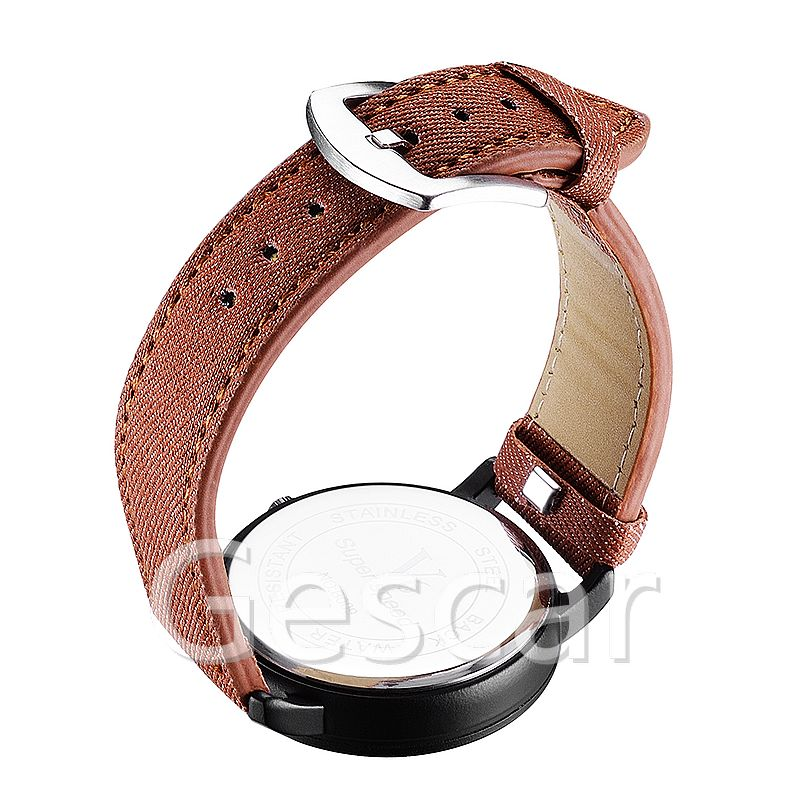 V6-b010 Hot sale product 2019 PU leather watch V6 super speed simply casual sport watch quartz watch