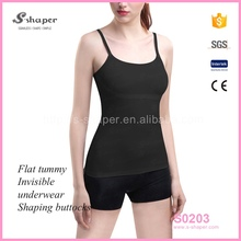 S-SHAPER Seamless Women Tank Top,Wholesale Camisole Lady Shaper,Cami With Adjustable Strap