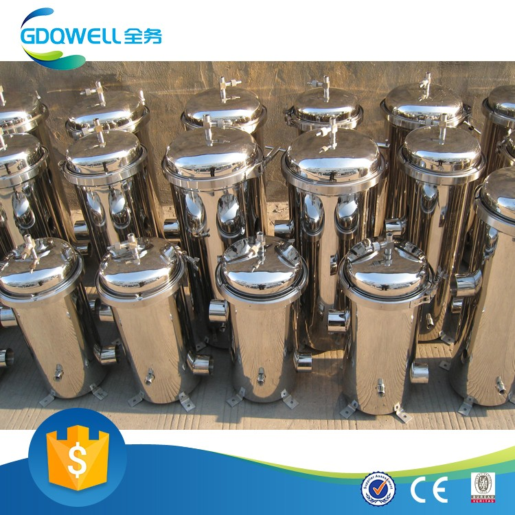 Good Reputation Stainless Steel Sea Water Filters Quick Connection Precision Filter