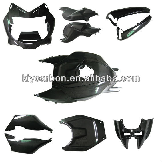 carbon fiber body parts for BMW K1300S