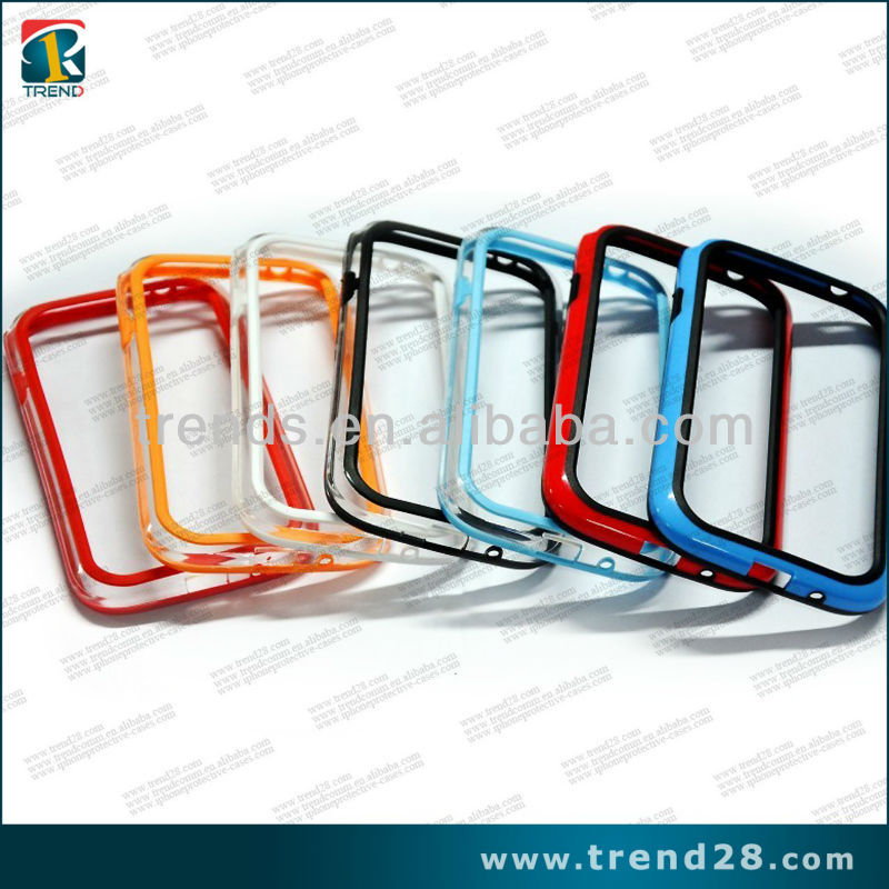 TPU+PC plastic bumper case for samsung galaxy i9082 i9080