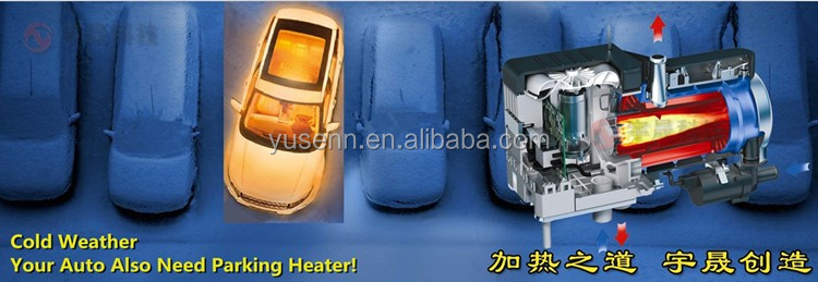 5KW 12V and 24V Air Diesel Parking Heater Similar to Webasto for Boats, Cars, Yachts and Caravans