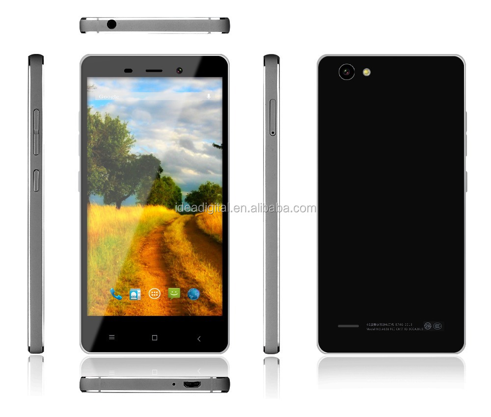 5 inch 4g lte smartphone with double flash light camera of 8.0mp +13.0 mp