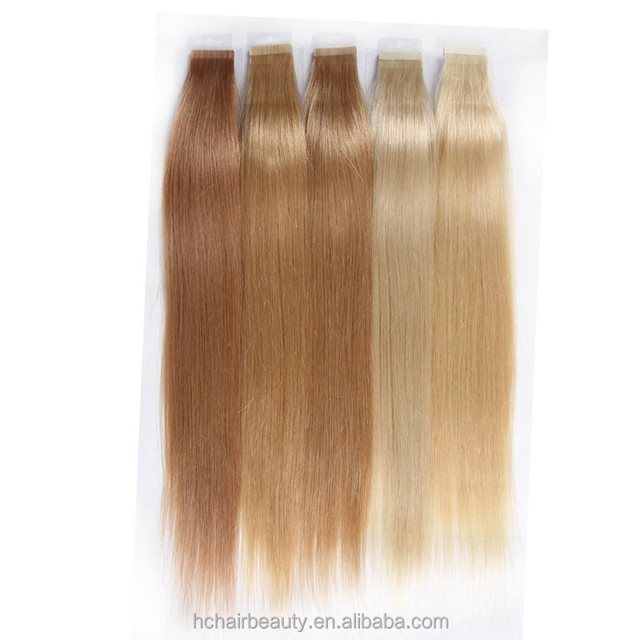 Human Virgin Hair Material Raw Peruvian Hair Extension Virgin Tape Human Hair Extensions Cheap Remy Tape In