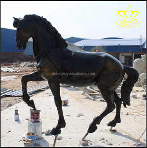 Life Size Bronze Sculpture horse For Shopping Mall for sale