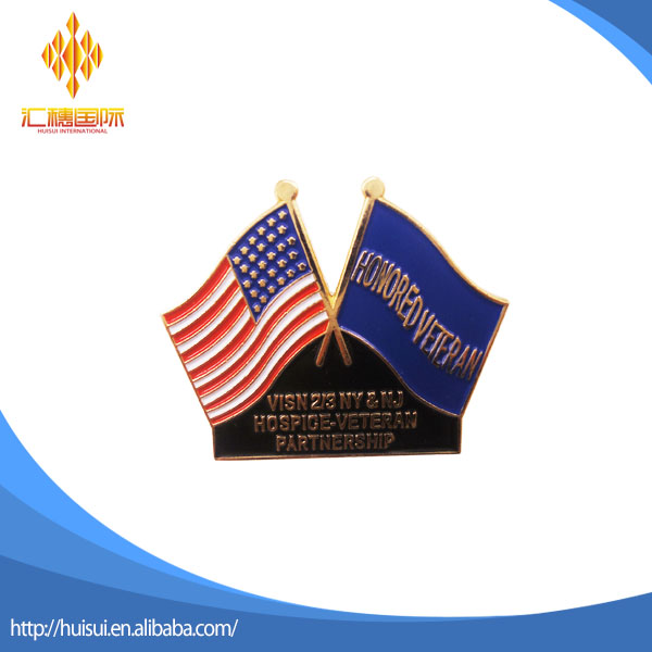 Hot koop diverse land custom design vlag revers pin