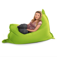 xxxl classic waterproof 420D polyester bean bag cover wholesale rectangle beanbag