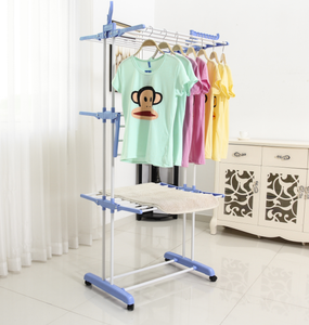 Household Appliances Folding Clothes hanger stand Dryer Rack