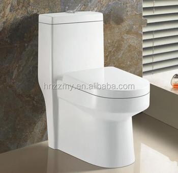 Floor Mounted Sanitaryware Pedestal Water Closet India Wc