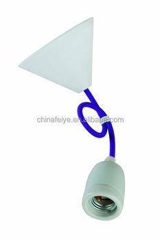 Purplependant lightcolor fabric cordceramic lamp holderplastic purplependant lightcolor fabric cordceramic lamp holderplastic ceiling rose aloadofball Images