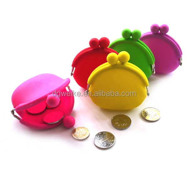 Various promotion gift silicone coin wallet,silicone coin holder ,silicone coin case