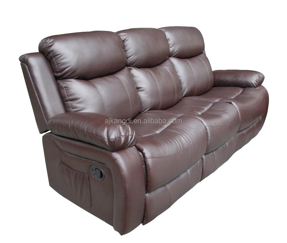 2018 Leather Recliner Sofa Set Single