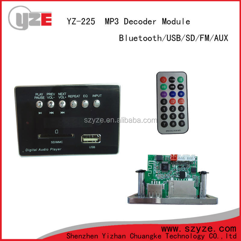 Bluetooth Circuit Board Speakerradio Bluetooth Mp3 Decoder Boardcar