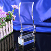Wholesale customized transparent crystal award for competition