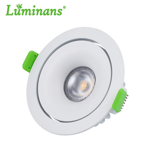 IP54 12W Dimmable Recessed Anti-Glare cob led down light / Downlight