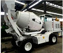 Portable off-road self-loading concrete mixer hot sale self loading concrete feeding mixer with truck in china factory