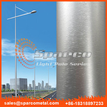 aluminium 9m basketball court lighting light pole