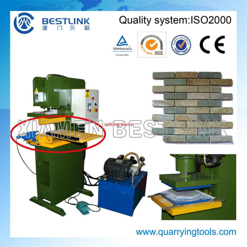 Stone wall panel machine