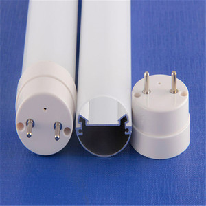 clear or milky or frosted polycarbonate diffuser apply to led tube light t8 housing