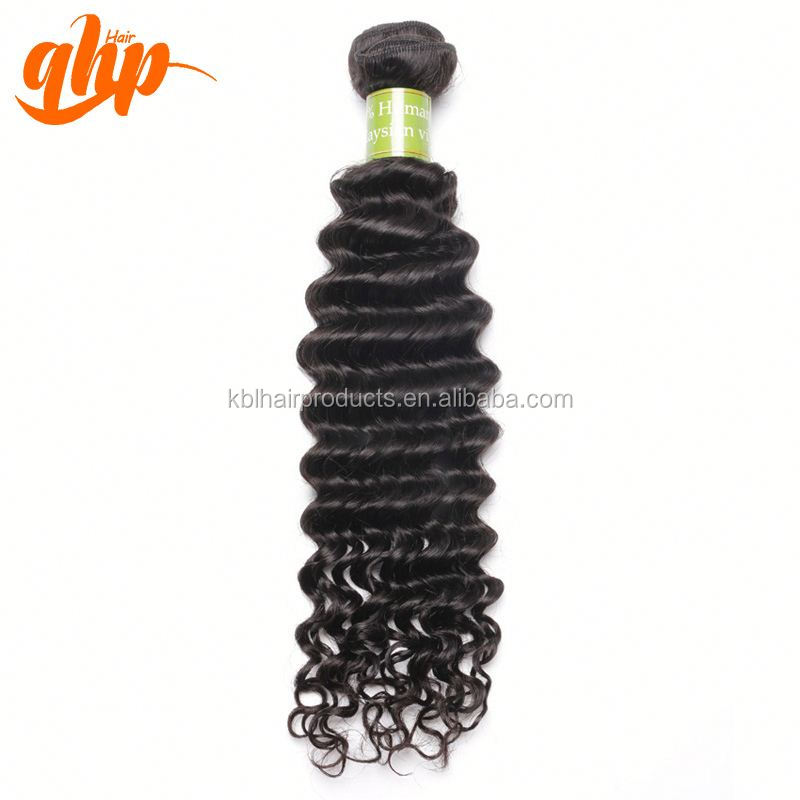 8a raw virgin unprocessed human malaysian deep curly wave hand tied braid hair