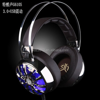 G610S USB pc headphone gaming with microphone gaming high quality