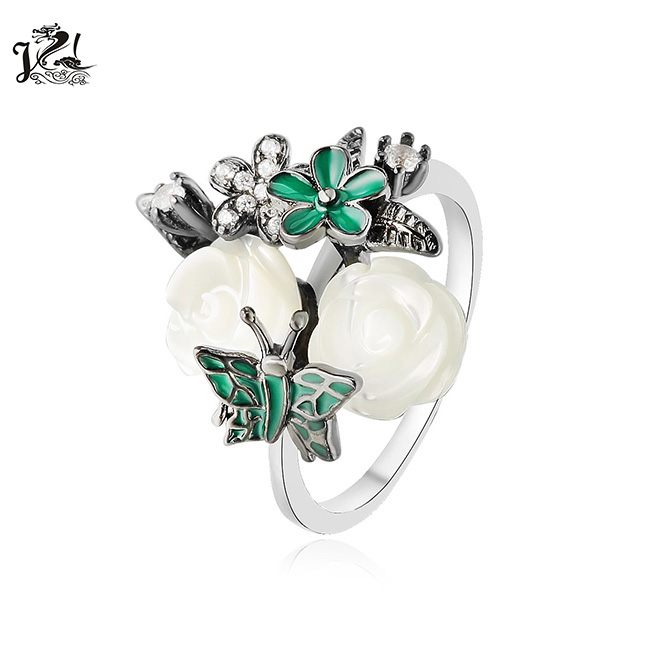 Dubai Women 925 Sterling Silver Gold Plated Fashion Jewellery From China