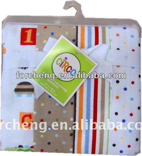 100% Cotton flannel baby blankets
