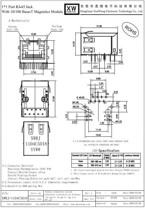 8pin 10pin 8 contact 10 100 1000base t rj45 rj48 rj11 connecteur rj12 connecteurs id de