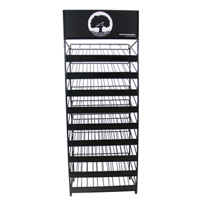 Metal wire model paint rack display