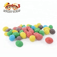 colorful chocolate candy ball halal snack foods with peanut