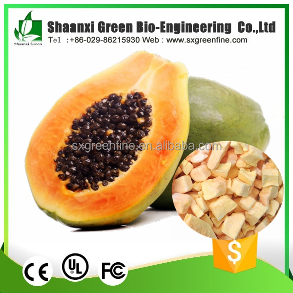 free sample 100% Natural Freeze Dried Fruit powder dried papaya powder