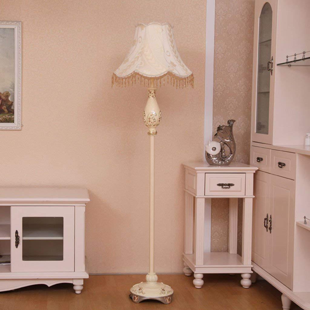 SED Floor Lamp-Led Floor Lamp European Living Room Retro Vertical Floor Lamp Fashion Creative Study Bedroom Bedside Floor Lamp Eye Protection Vertical Table Lamp
