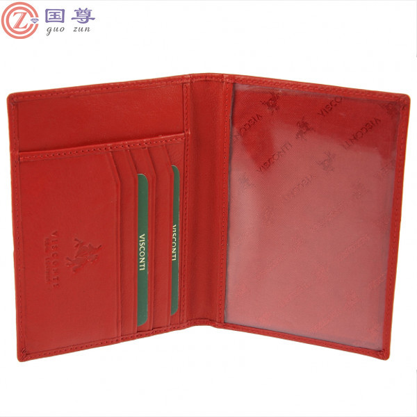 Building Architecture Facade Leather Passport Holder Cover Case Travel One Pocket