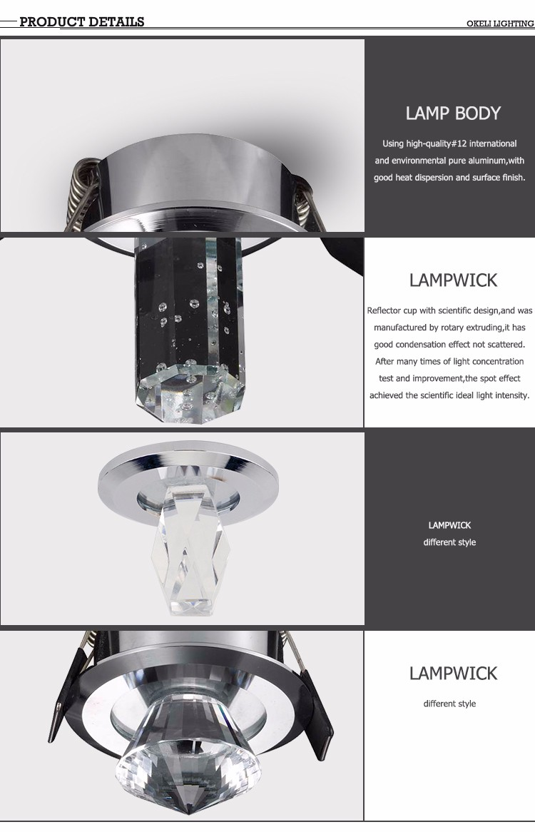 Hochwertigen Rotierenden Handheld Led Kristall Spot Licht Preis