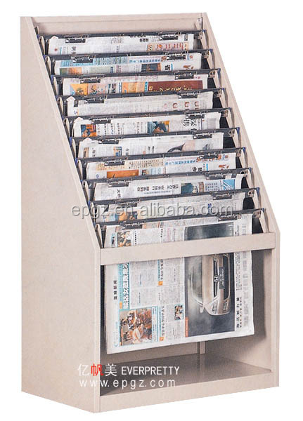 Newspaper Stand Designs : Newspaper rack nespaper shelf display stand