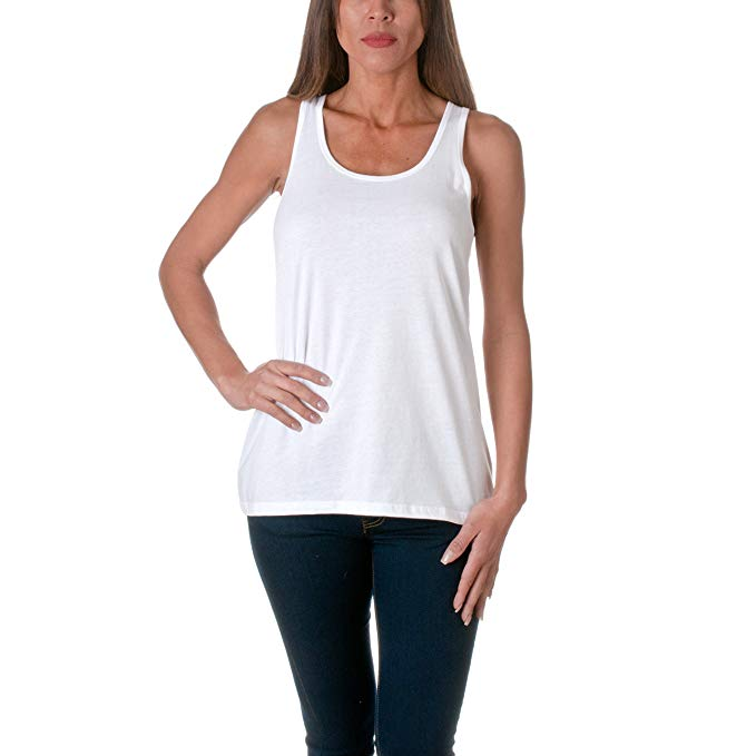 bulk wholesale printing blank <strong>women</strong> 100% cotton <strong>tank</strong> <strong>top</strong> with your logo