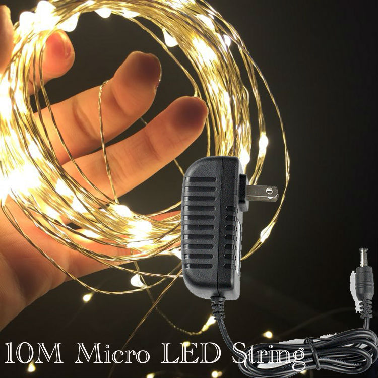Wholesale 2M 20 LEDS Copper Wire LED Lights String Fairy Battery ...
