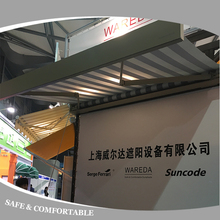 Balcony Aluminum Full Cassette Sunshade Retractable Awning