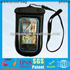 swimming waterproof mobile phone bag cover for phones with IPX8 certification