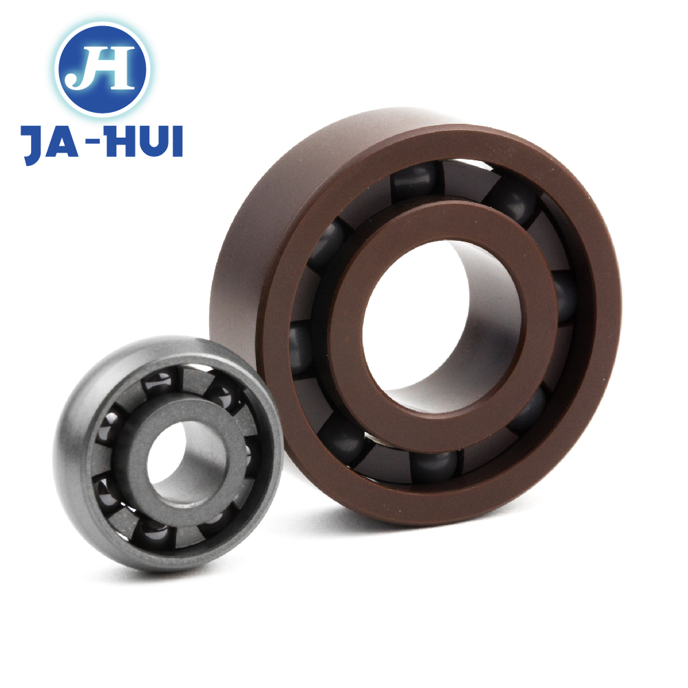 fire water resistant ceramic ball PEEK all size bearing for semiconductor