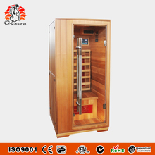 Hot Selling Relax Far Infrared Sauna Room Ray Sauna Cabins L1TV Red
