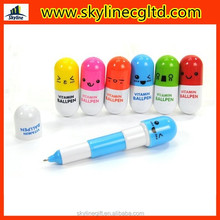 Colorful Promotional pen capsule pen gifts for medical doctors