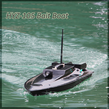 Hyz 105 rc fish ship oem bait boat for using in fresh and for Rc boat fishing